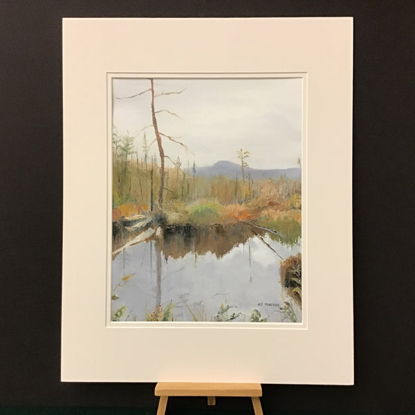 """Grampus Mountain"" Print from Original Oil, by A.J. Murray, Potsdam, NY"