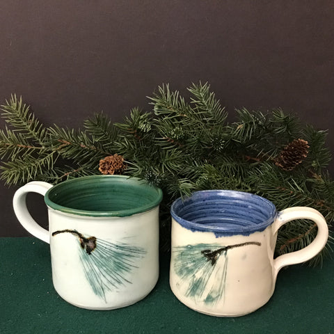 Porcelain Soup/Latte Mugs