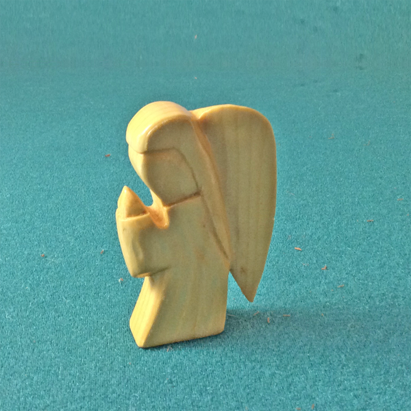 Small angel carving