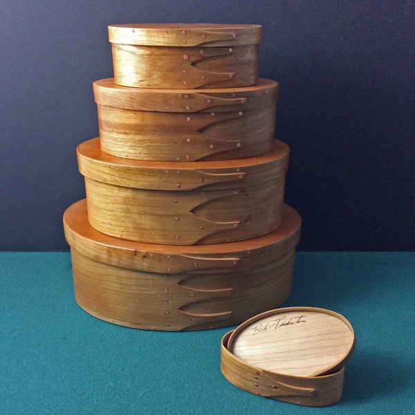 Cherry Wood Shaker Box