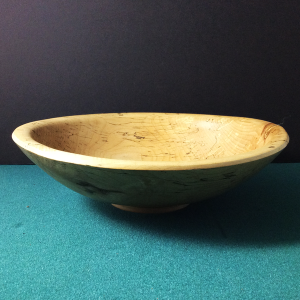 Spalted Ash Bowl, Jan Wojcik, Potsdam, NY
