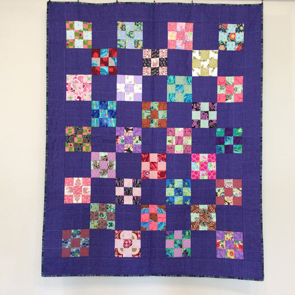 """Fairy Tales"" Quilt, Short Twin"