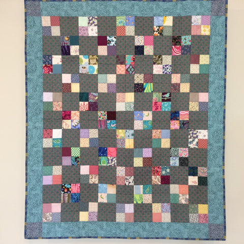 """Small Towns"" quilt or wall hanging"