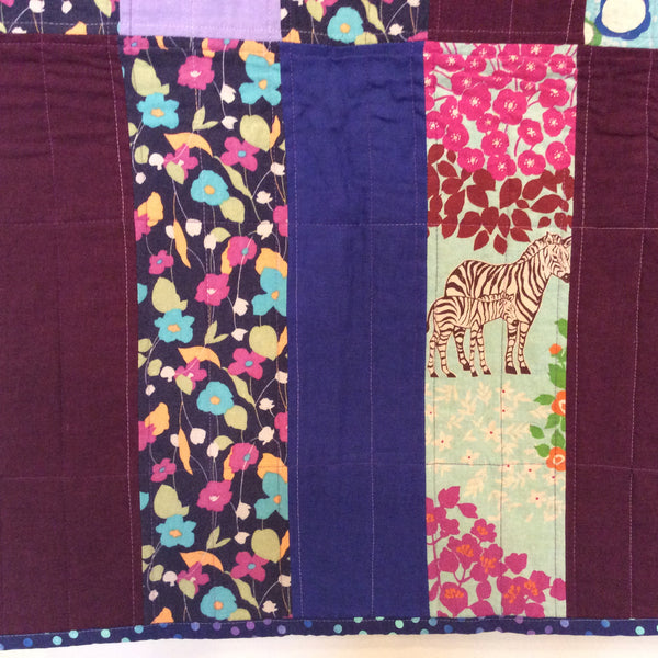 """Samarkand"" Wall or Lap Quilt"