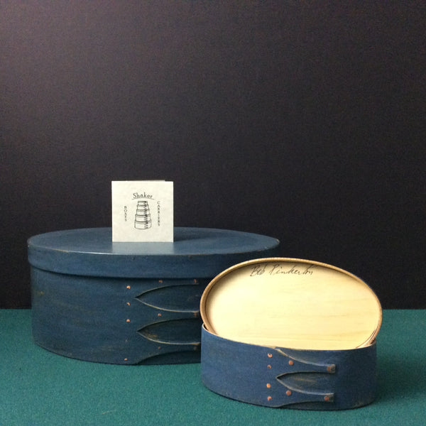 Blue Stain Shaker Box