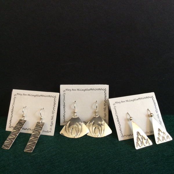 Assorted Silver Earrings