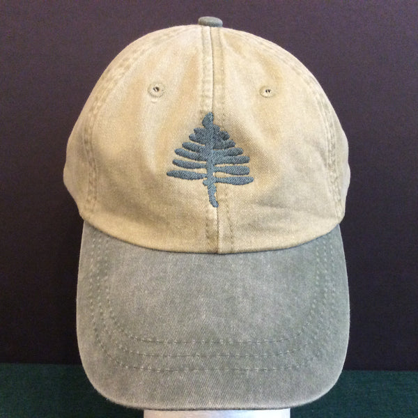 TAUNY Cap Khaki and Spruce, Great Northern Screen Printing & Embroidery