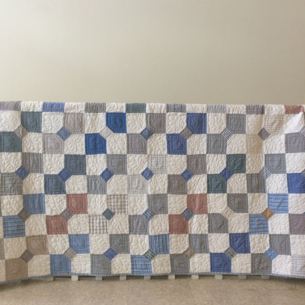 """Bow Tie"" Quilt, Becky Ellis, Pierrepont Manor, NY"