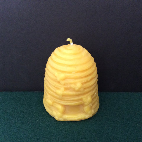 Bee Hive Beeswax Candle