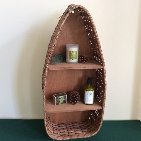 Half Canoe Wall Shelf Basket, Mary M. Keim