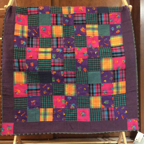 "Flannel ""Laurel Burch""  large throw"