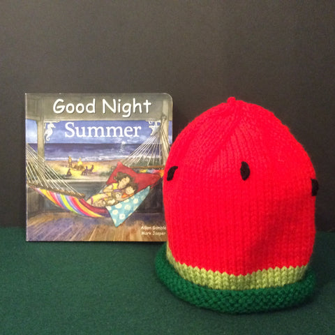 Hand Knitted Watermelon Baby Hat, Francine King, Cape Vincent, NY