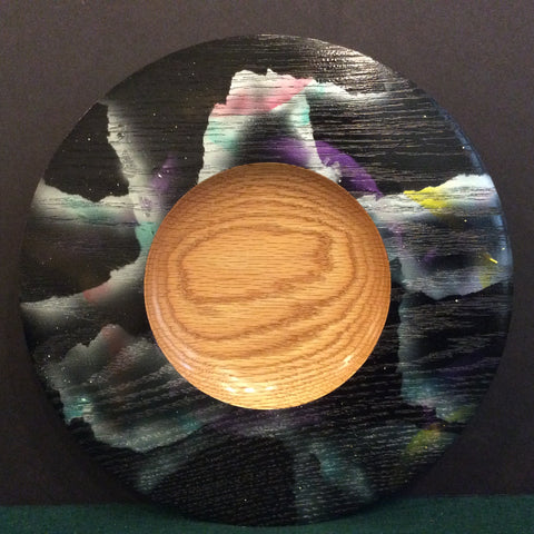 "Plate ""Starry Night"", David Buchholz, Augur Lake, Keeseville, NY"