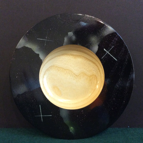 "Small Plate "" Starry Night"", David Buchholz, Augur Lake, Keeseville, NY"