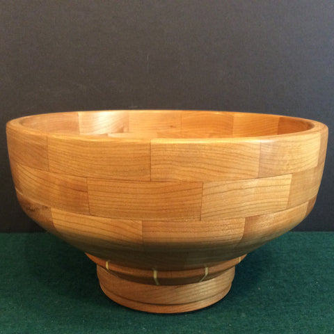 Segmented Bowl Cherry, Frank DiLeonardo, Watertown, NY