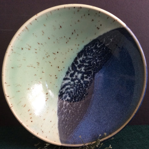Pasta Bowl Celadon and Blues, Linda Petroccione, DeKalb Junction, NY