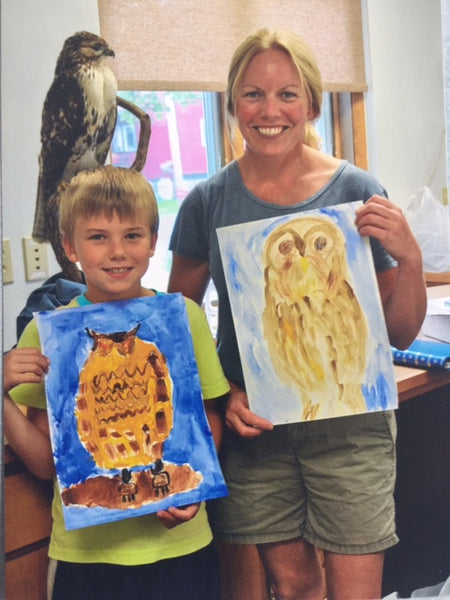 Nancy Wilder Palmateer Memorial Children's Workshop TAUNY Kids Create: Wildlife to Watercolors with Loretta Lepkowski, Saturday April 28th