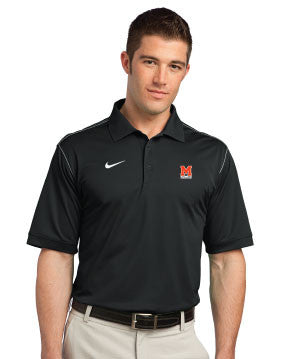 Nike Golf Dri-FIT Sport Swoosh Pique Polo. 443119