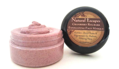 Cranberry Rhubarb Exfoliating Facial Masque