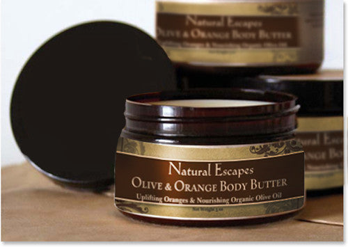 Olive & Orange Body Butter | Organic Body Butter for Dry Itchy Skin, Eczema, Psoriasis, Burns, Wrinkles, Scars & Much More