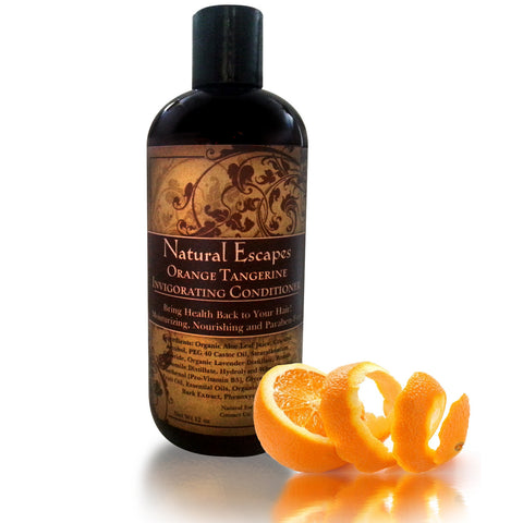 Orange Tangerine Invigorating Conditioner | Lightweight Conditioner for Oily Hair, Gray Hair, Hair Loss & More