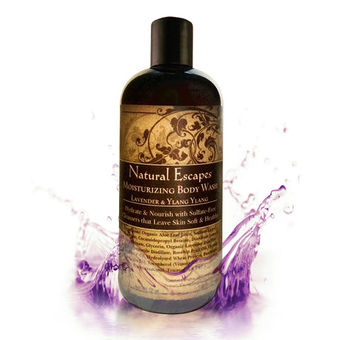 Lavender & Ylang Ylang Moisturizing Body Wash | Sulfate-Free Body Wash for Soft, Smooth Skin