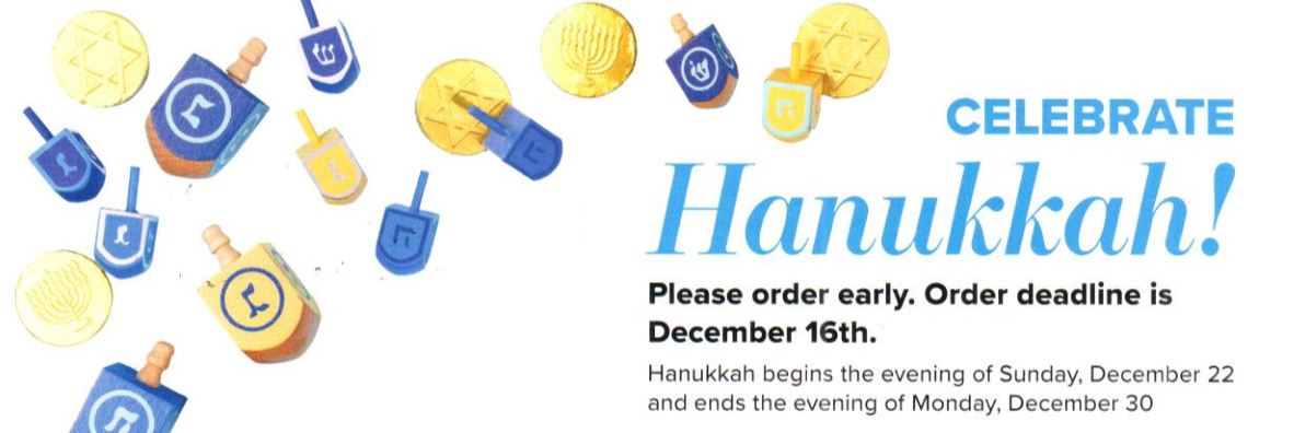 JFJ - Hanukkah Sales Flyer