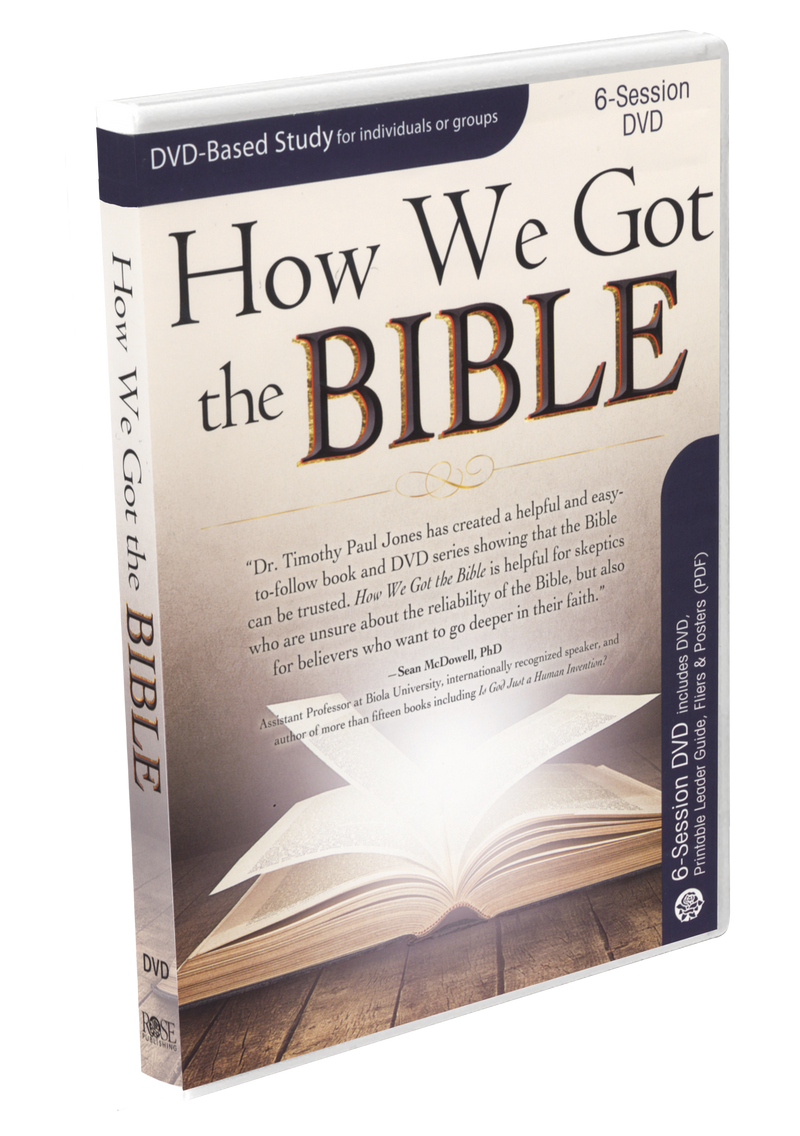 How We Got the Bible - DVD