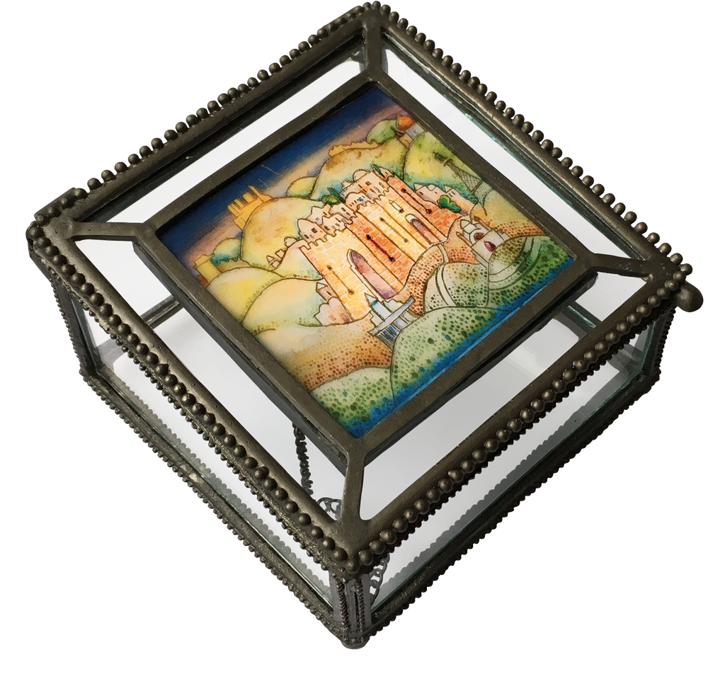 Interchangeable Picture Glass Gift Box