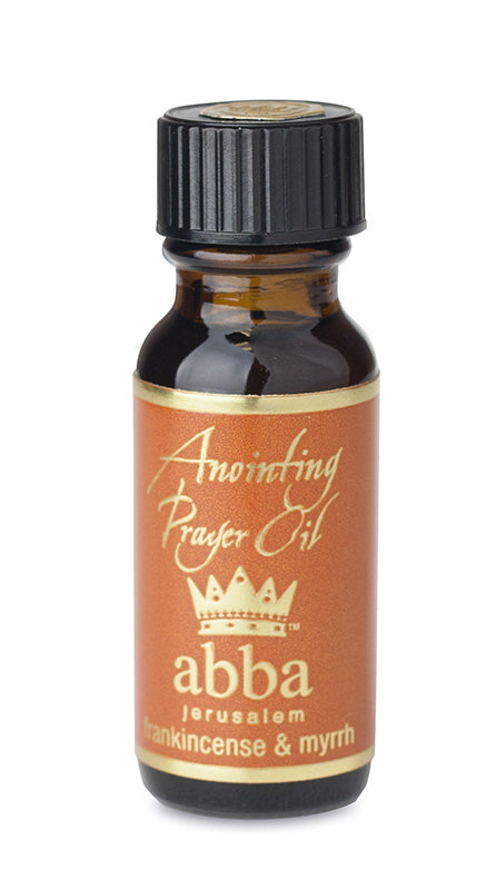 Frankincense and Myrrh Anointing Oil