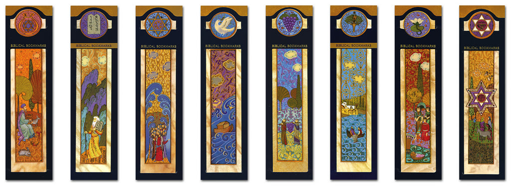 Biblical bookmarks from Israel