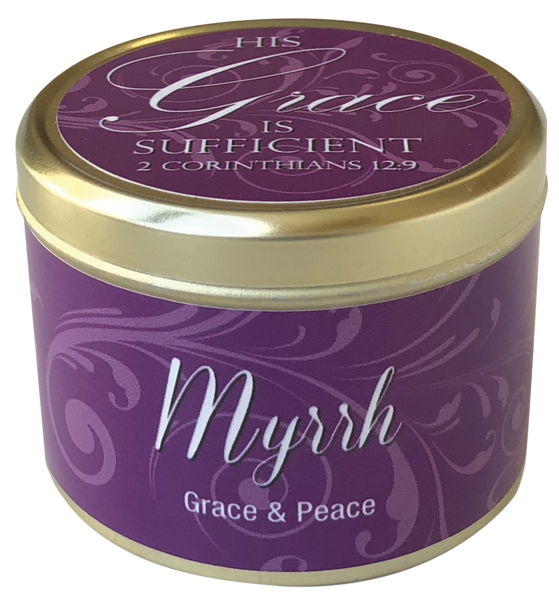 Myrrh Scripture Candle