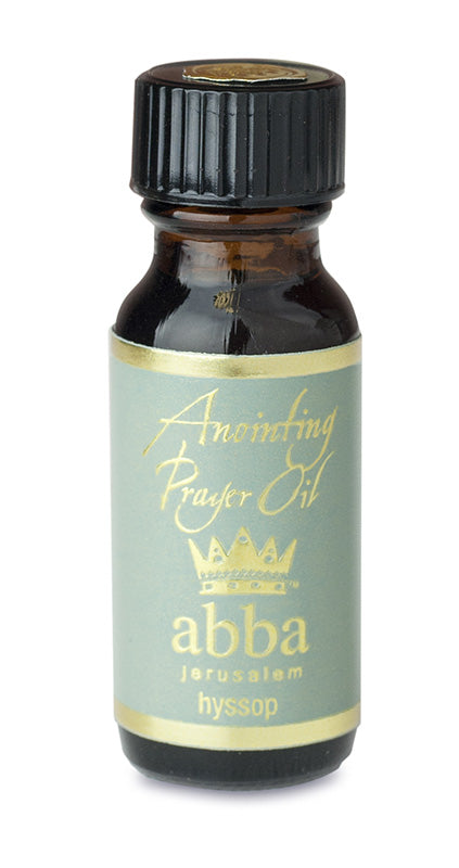 Hyssop Anointing Oil 1/2 oz