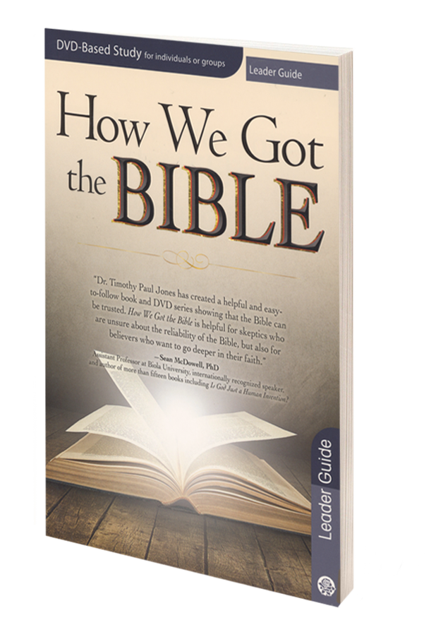 How We Got the Bible - Leader Guide