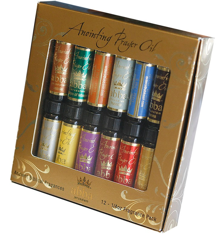 Biblical Anointing Oils Gift Pack