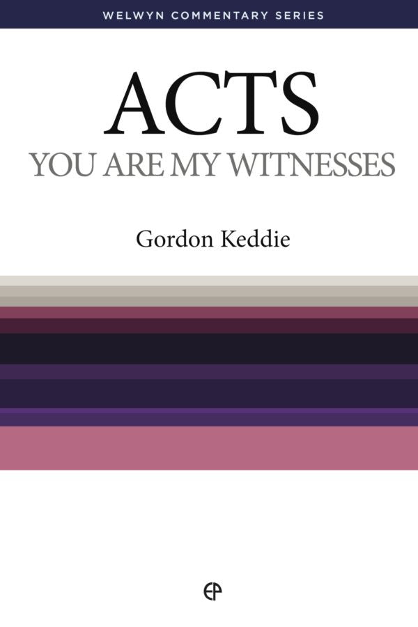 WCS Acts - You Are My Witnesses