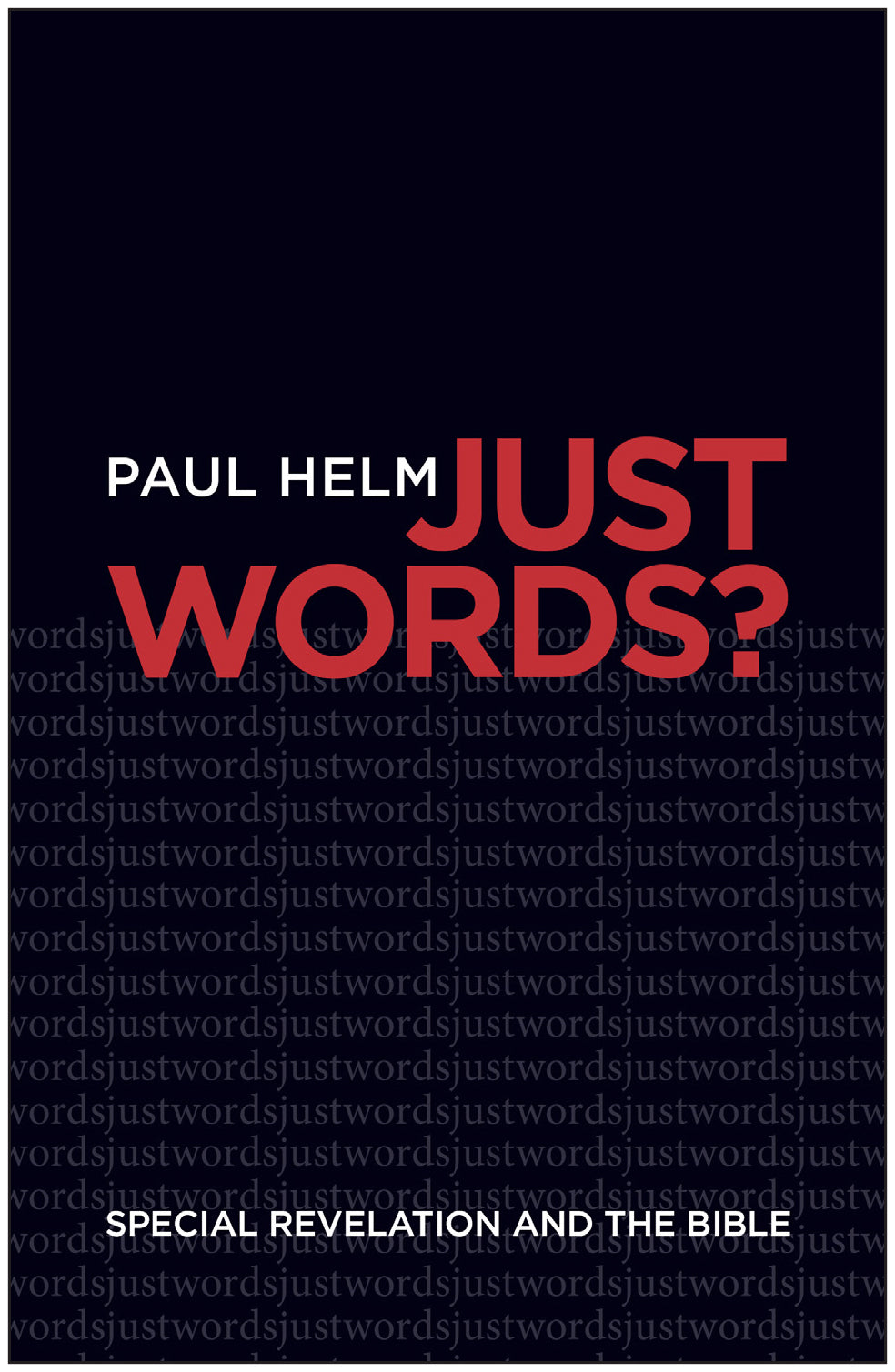 Just Words?