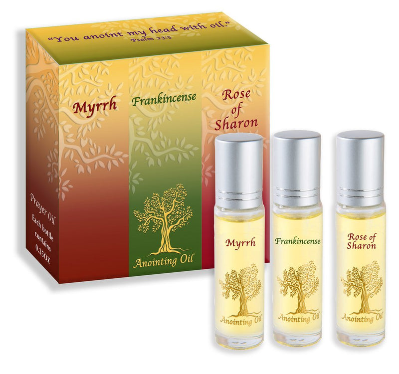 Anointing Oil 3 Pack