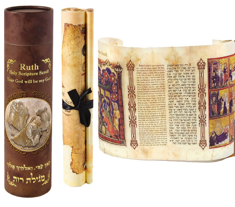 Ruth Holy Scripture Scroll