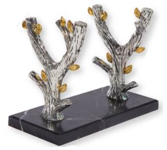 Olive Tree Shofar Stand