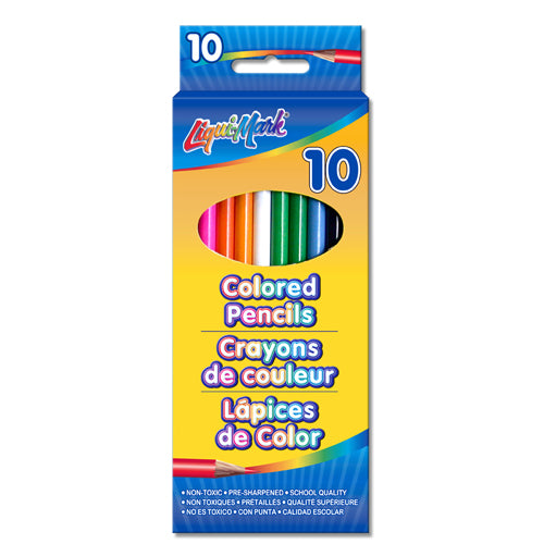 Colored Pencils - 10 Pack