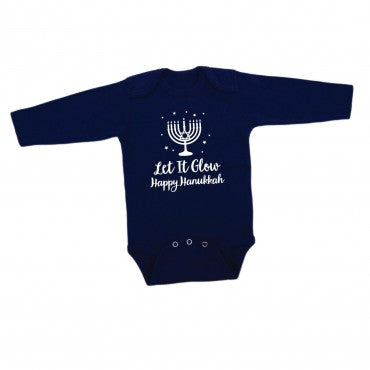 Hanukkah Long-Sleeved Onesie