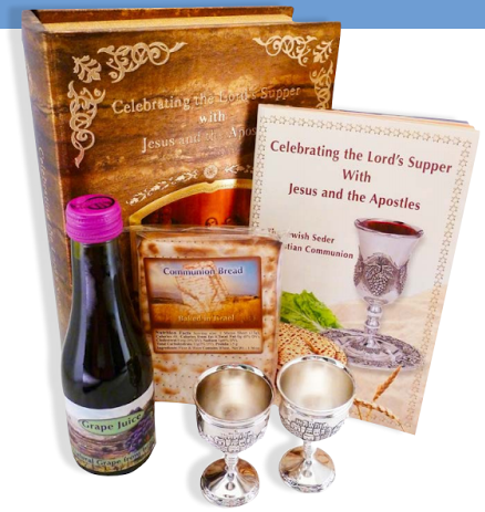 Portable Communion Set with Silver Cups