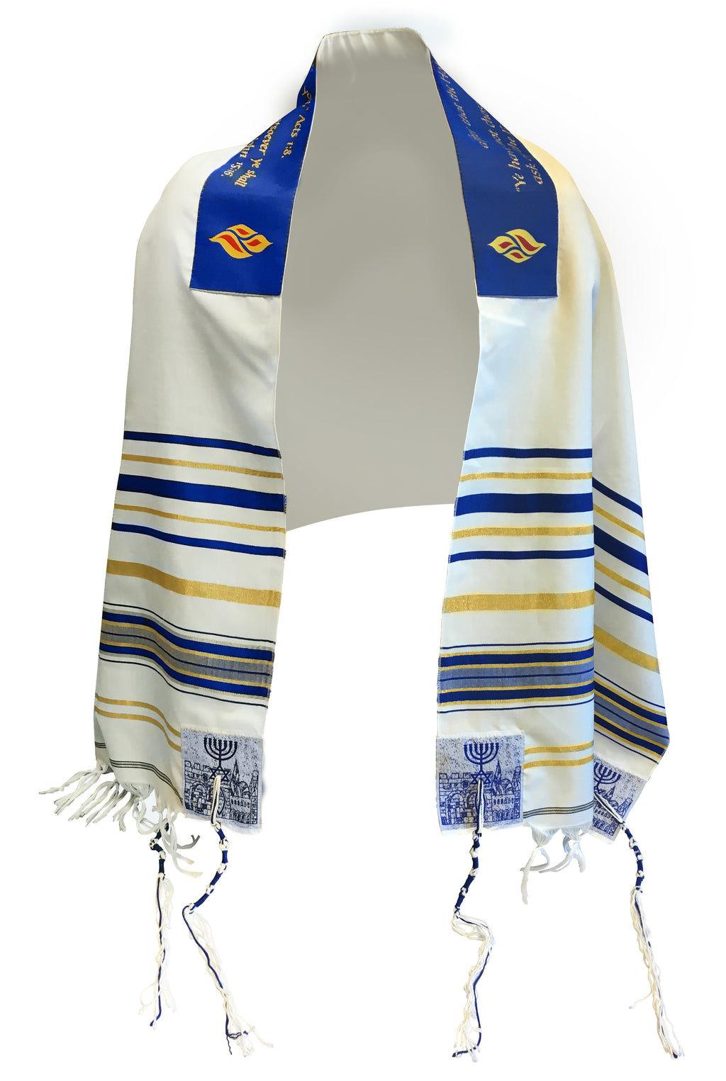 Tallit Flame of Pentecost Prayer Shawl