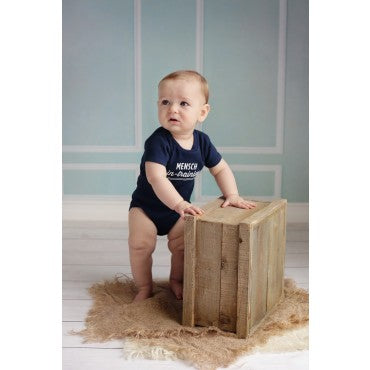 """Mensch in Training"" Onesie"