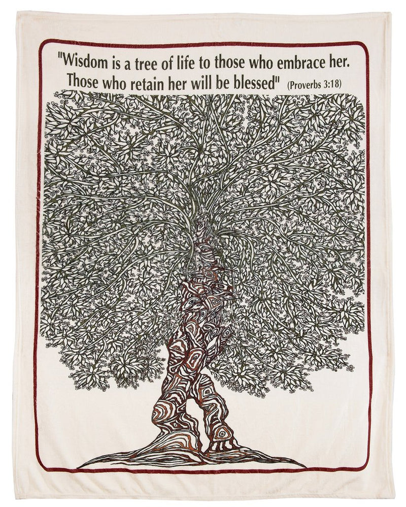 Our Tree of Life Blanket