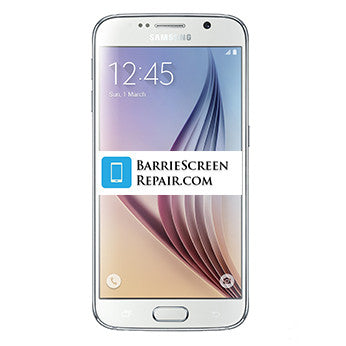 Samsung S6 Screen Repair Service (Black/White)