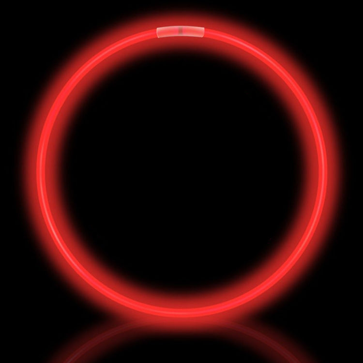 "22"" Red Premium Glow Necklaces (50/tube or 600/case)"