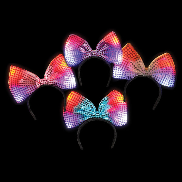"6"" Light-Up Bow Headband"