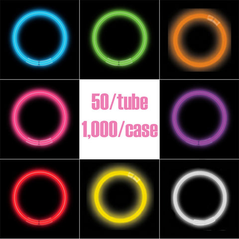 "8"" Glow Bracelets (color & volume options)"